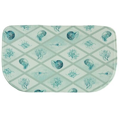 Diamond Ocean Memory Foam Kitchen Mat