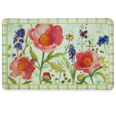Month of May Memory Foam Kitchen Mat Rug Size: 111 x 3