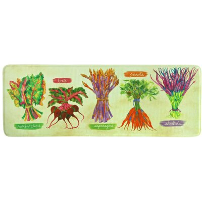 Garden Fresh Memory Foam Kitchen Mat
