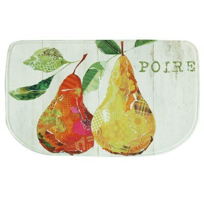 Poire Memory Foam Kitchen Mat