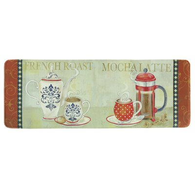 French Duo Memory Foam Kitchen Mat