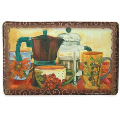 Baristas Best Memory Foam Slice Kitchen Mat Rug Size: 111 x 3