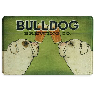 Bulldog Brewing Memory Foam Kitchen Mat