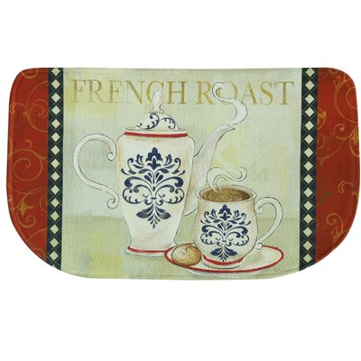 French Roast Memory Foam Kitchen Mat