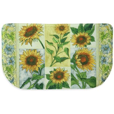 Sun Worshippers Memory Foam Slice Kitchen Mat Mat Size: 16 x 26