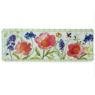 Month of May Memory Foam Kitchen Mat Mat Size: 1'8
