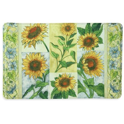Sun Worshippers Memory Foam Slice Kitchen Mat Mat Size: 111 x 3