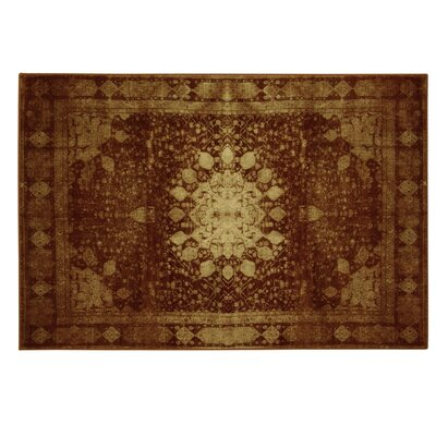 Traditions Malak Red Area Rug Rug Size: 77 x 96