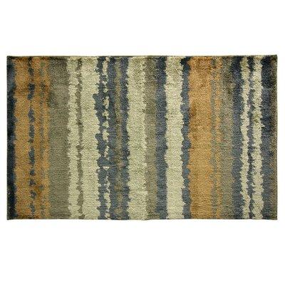Cashlon Strata Gold Area Rug Rug Size: 24 x 42
