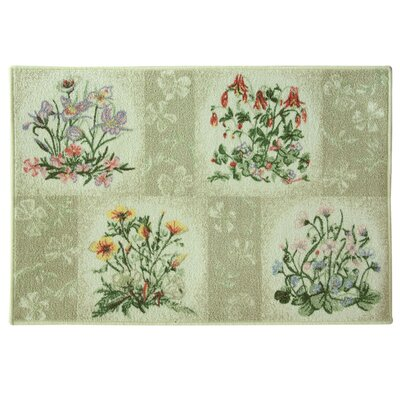 Classic Berber Spring Flower Mat