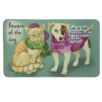 Floor Gallery Beware Of Dog Door Mat