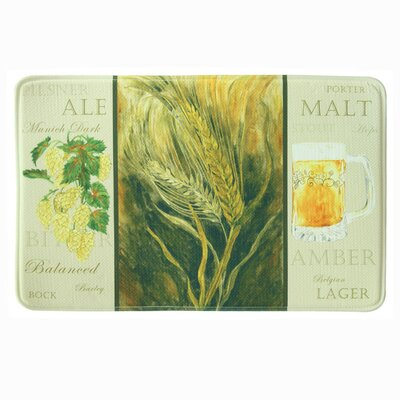 Standsoft Memory Foam Formal Beer Mat Mat Size: 1'11
