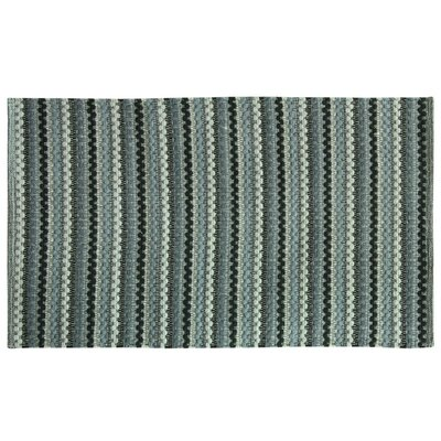 Brenden Hand-Woven Gray Area Rug Rug Size: 19 x 210