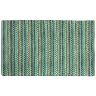 Brenden Hand-Woven Green Area Rug