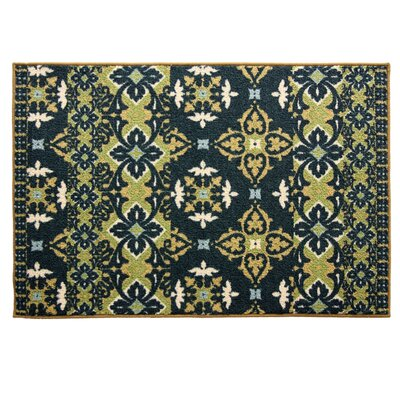 Cambridge Zamora Green/Blue Area Rug
