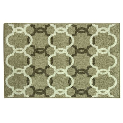 Cambridge Green Area Rug Rug Size: 18 x 29