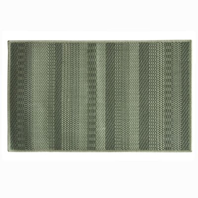 Natural Gray Area Rug Rug Size: 18 x 29