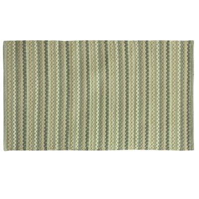 Brenden Hand-Woven Green/Beige Area Rug Rug Size: 2 x 4