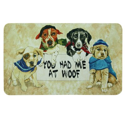 Floor Gallery You Had Me At Door Mat
