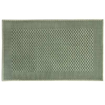 Natural Green Area Rug Rug Size: 2'4