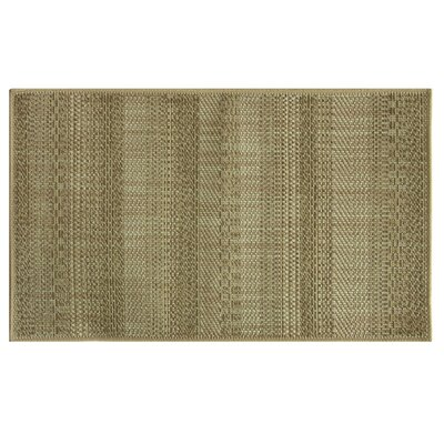 Natural Brown Area Rug Rug Size: 24 x 310