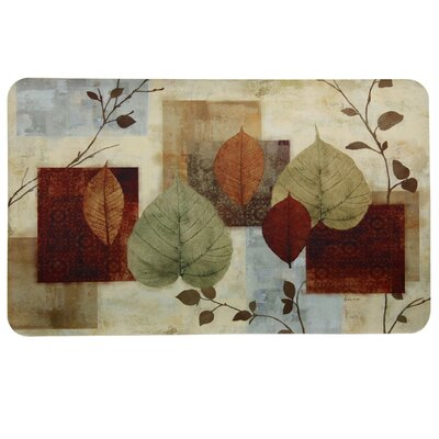 Floor Gallery Leaf Matrix Door Mat