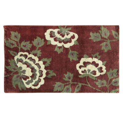 Cashlon Brianna Red Area Rug Rug Size: 110 x 29