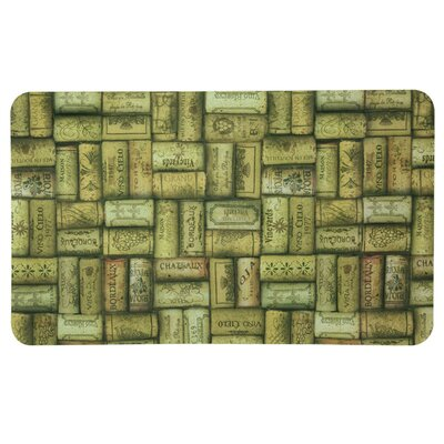 Floor Gallery Wine Corks Door Mat