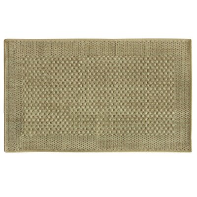 Natural Green Area Rug Rug Size: 18 x 29