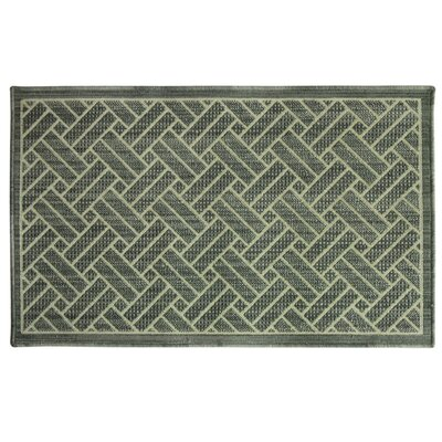 Marbella Grey Area Rug Rug Size: 24 x 310