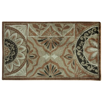 Cashlon Pamona Brown Area Rug Rug Size: 24 x 42