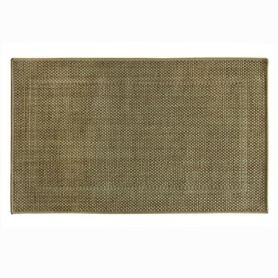 Natural Brown Area Rug Rug Size: 18 x 29