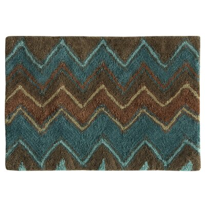 Charee Zigzag Bath Rug
