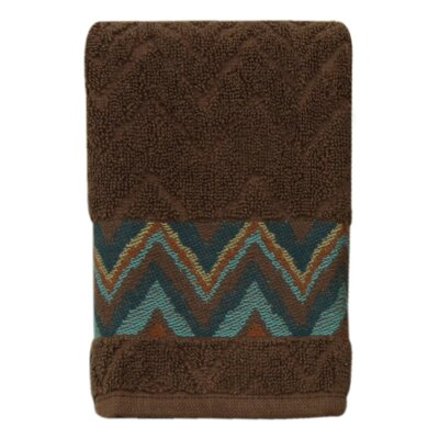 Charee Zigzag Fingertip Towel