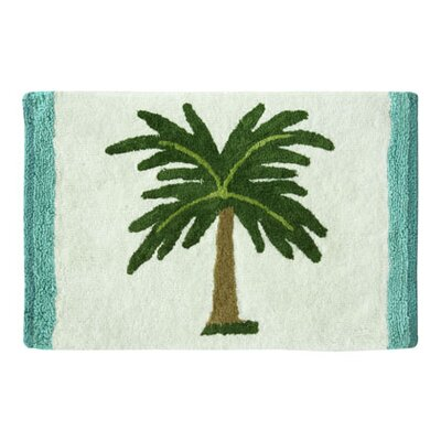 Darien Palm Tree Bath Rug Size: 20