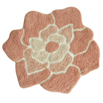 Melody Bath Rug Color: Pink
