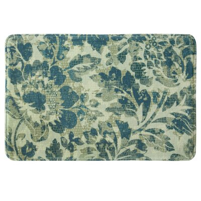 Christena Bath Rug Color: Navy