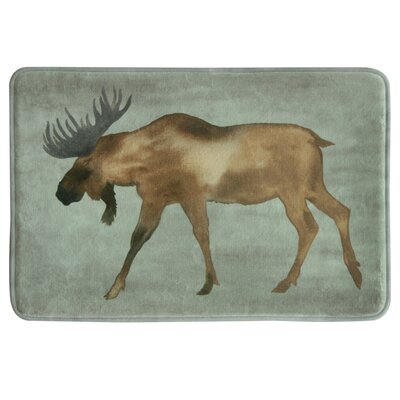 Bendel Moose Bath Rug