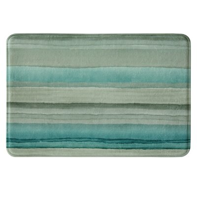 Edith Bath Rug Color: Teal