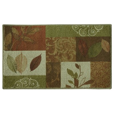 Nerbonne Brown/Green Area Rug Rug Size: Rectangle 24 x 310