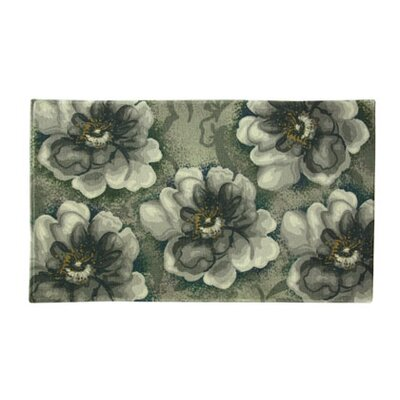 Allis Gray Area Rug Rug Size: Rectangle 18 x 29