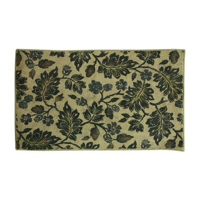 Potnis Canopy Green/Beige Area Rug Rug Size: Rectangle 18 x 29