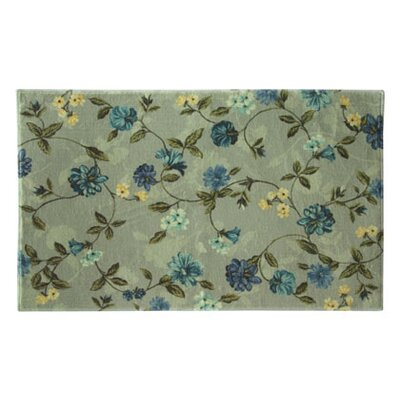 Edmondson Blue/Beige Area Rug Rug Size: Rectangle 24 x 39