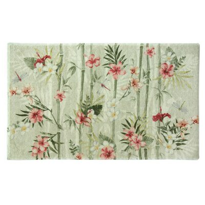 Elida Floral Red/Green Area Rug Rug Size: Rectangle 24 x 310