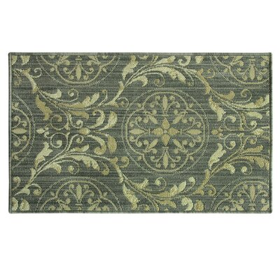 Vlacihova Gray Area Rug Rug Size: Rectangle 18 x 29