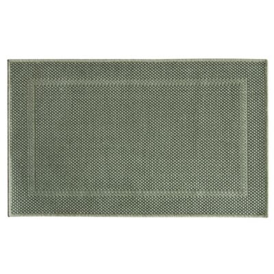 Elizabeth Woven Framed Ridges Gray Area Rug Rug Size: Rectangle 18 x 29