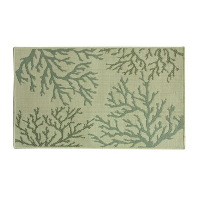 Eldridge Coral Reef Green/Beige Area Rug