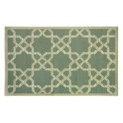 Eldridge Green Area Rug Rug Size: Rectangle 18 x 29