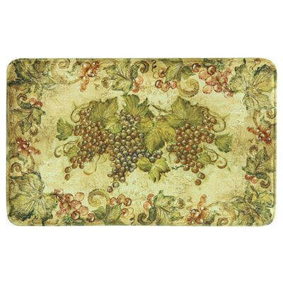 Johannsen Antique Grapes Green Area Rug Rug Size: Rectangle 16 x 26