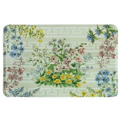 Ostersehlte Bouquet Green/Yellow Kitchen Mat